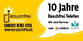 Rauchfrei Telefon, Tel.: 0800-810013, http://www.rauchfrei.at